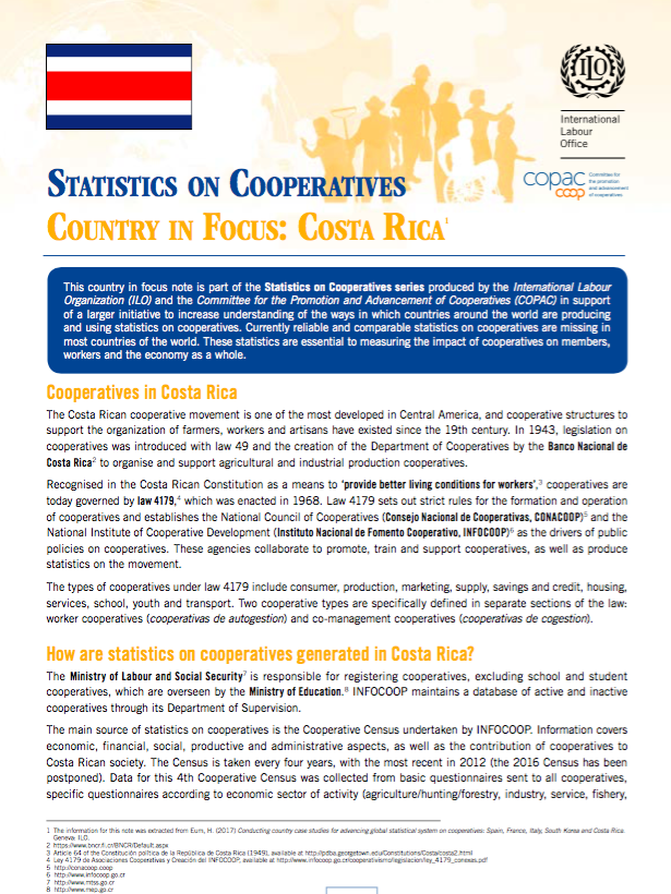 Costa Rica County in Focus Note