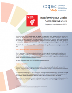 Transforming our world - Coop contributions to SDG 5
