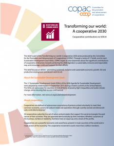 SDG 8 Brief