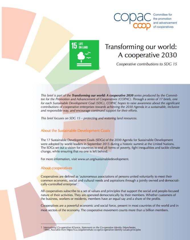 SDG 15 Brief