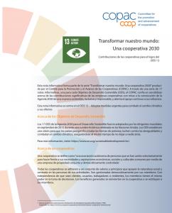 SDG 13 Spanish